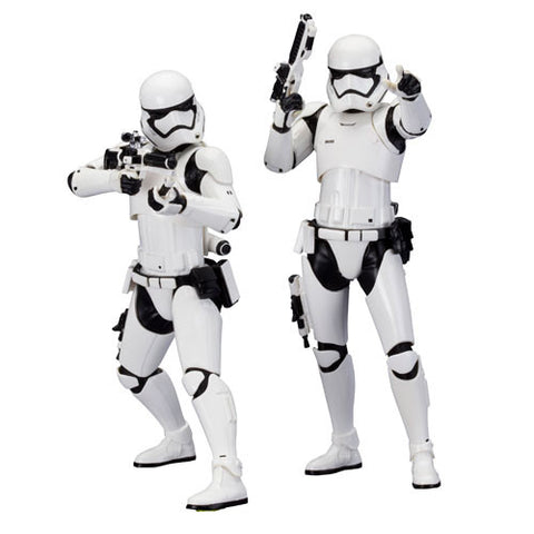 Kotobukiya Star Wars the Force Awakens First Order Stormtrooper ArtFX+ Statue 2 Pack