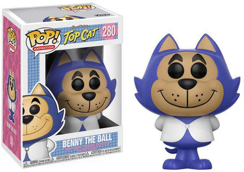 Funko POP! Animation Hanna-Barbera Top Cat Benny the Ball Vinyl Figure #280 [Regular Version]