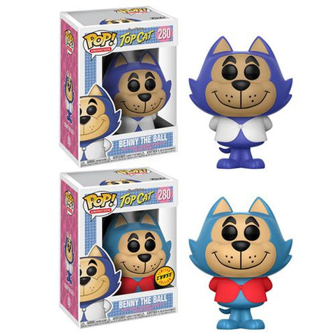 Funko POP! Animation Hanna-Barbera Top Cat Benny the Ball 1 in 6 Chance For Chase Vinyl Figure #280