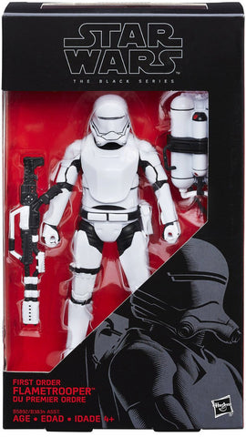 Star Wars The Black Series 6 Inch First Order Flametrooper
