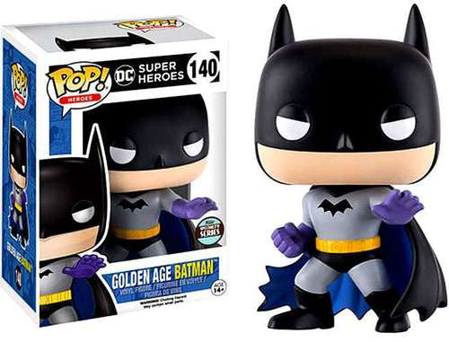 DC Super Heroes Funko POP! Golden Age Batman Specialty Series Vinyl Figure #140