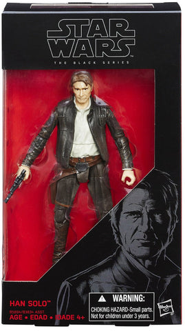 Star Wars The Black Series 6 Inch Han Solo (Old Han)