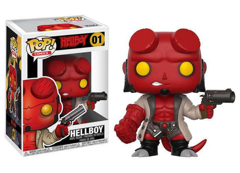 Funko POP! Comics Hellboy With Jacket No Horns Vinyl Figure #01 [Regular Version]