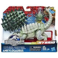 Jurassic World Bashers and Biters Hybrid Armor Anklyosaurus