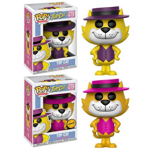Funko POP! Animation Hanna-Barbera Top Cat 1 in 6 Chance For Chase Vinyl Figure #279
