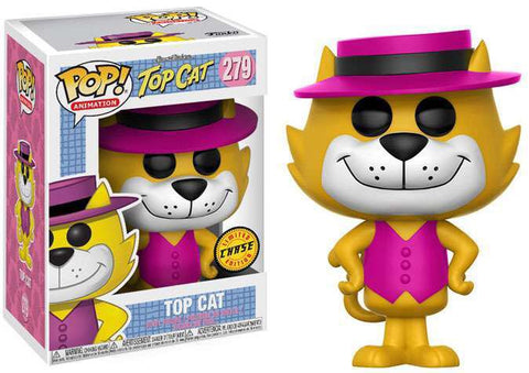 Funko POP! Animation Hanna-Barbera Top Cat Vinyl Figure #279 [Chase Version]