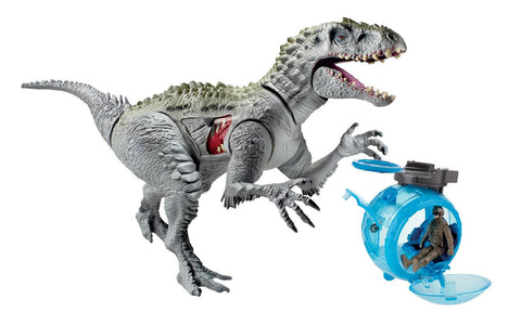 Jurassic World Capture Vehicles Indominus Rex vs Gyro Sphere