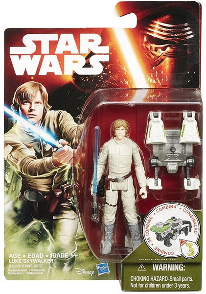 Star Wars The Force Awakens Luke Skywalker 3 3/4 Inch Figure