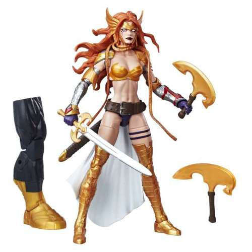 Marvel Legends Guardians of the Galaxy Vol. 2 Angela 6-Inch Action Figure BAF Titus