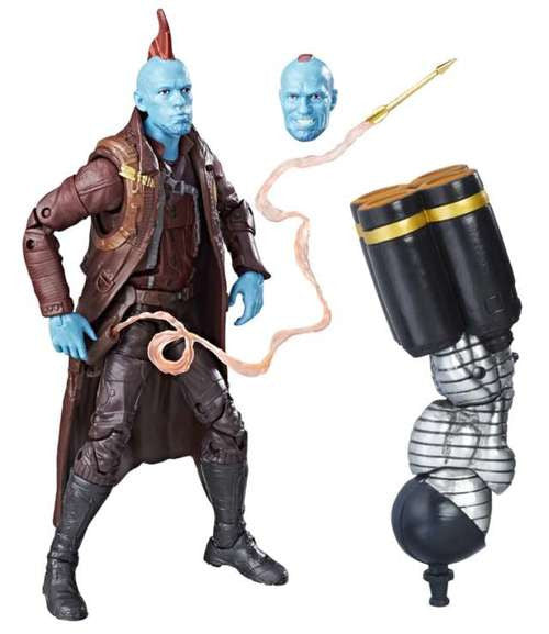 Marvel Legends Guardians of the Galaxy Vol. 02 Yondu 6-Inch Action Figure BAF Titus