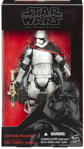 Star Wars The Black Series 6 Inch Captain Phasma