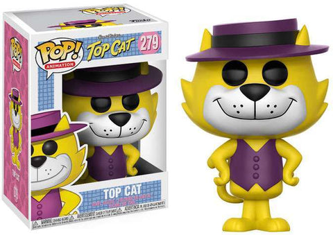 Hanna-Barbera Funko POP! Animation Top Cat Vinyl Figure #279 (Common)