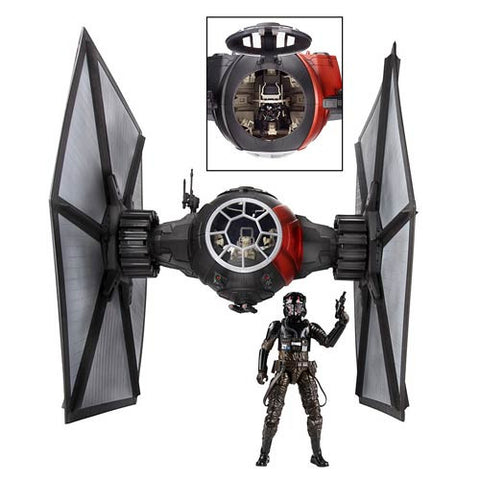 Star Wars the Black Series 6 Inch First Order Special Forces TIE Fighter with Pilot