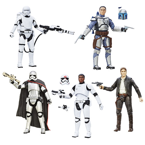 Star Wars The Force Awakens The Black Series 6 Inch Action Figures Wave 5 Case