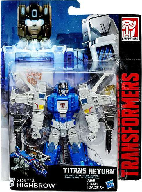 Xort & Highbrow from Transformers Generations Titans Return Deluxe Class Wave 2