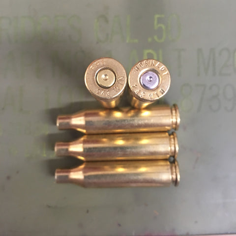 243 Brass Casings - 25 and 50 Count - Lone Star Brass