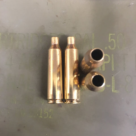 25-06 Remington Brass Casings - case/each and 20 Count