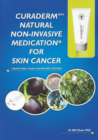 CuradermBEC5 Natural Non-Invasive Medication for Skin Cancer BOOKLET