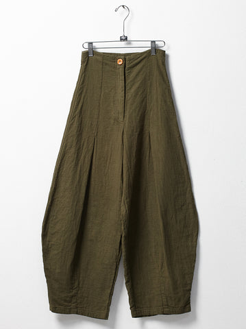 Haldia pants in hunter green