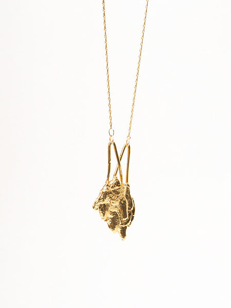 Bark Arrow Necklace - Founders & Followers - Ladyluna - 1