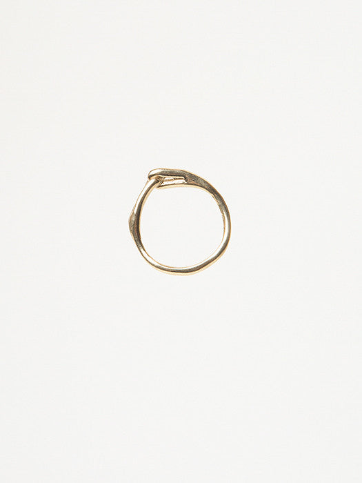 Knot Ring in Bronze - Founders & Followers - Ladyluna