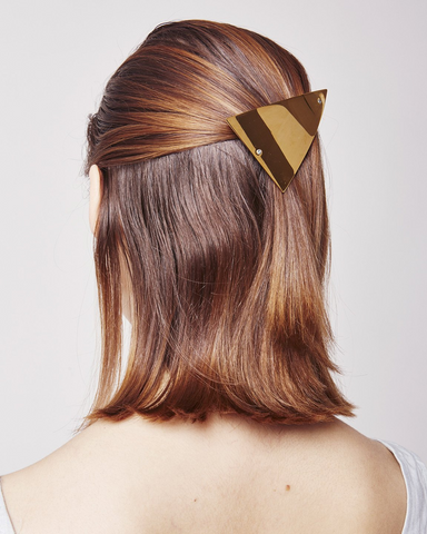 Barrette 0863 in gold