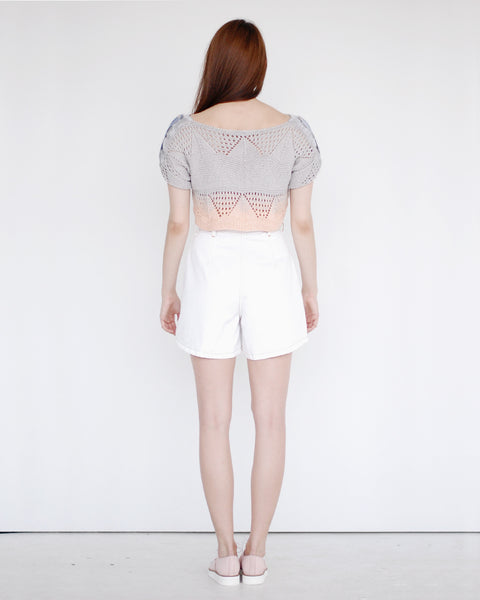 Crochet Cropped Sweater - Founders & Followers - Risto - 4