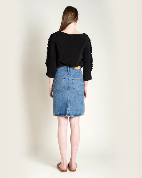Jena Denim Skirt - Founders & Followers - Objects without meaning - 4