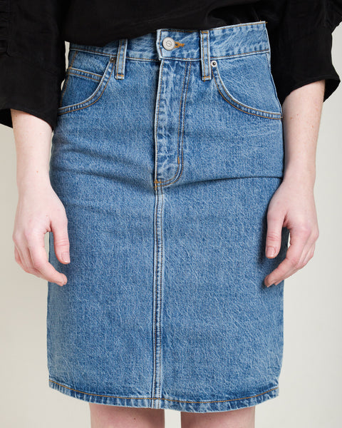 Jena Denim Skirt - Founders & Followers - Objects without meaning - 1