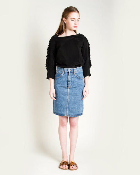 Jena Denim Skirt - Founders & Followers - Objects without meaning - 2