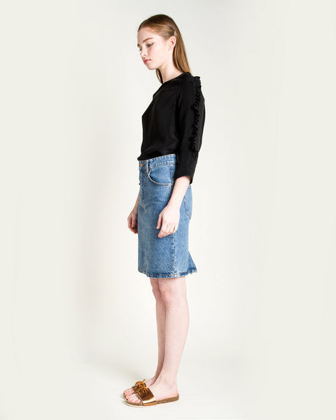 Jena Denim Skirt - Founders & Followers - Objects without meaning - 3