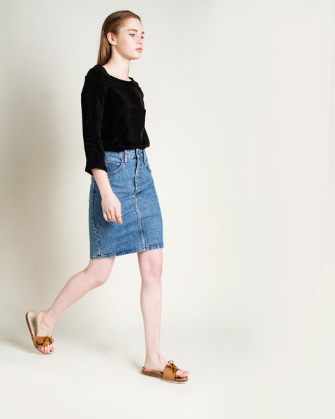 Jena Denim Skirt - Founders & Followers - Objects without meaning - 5