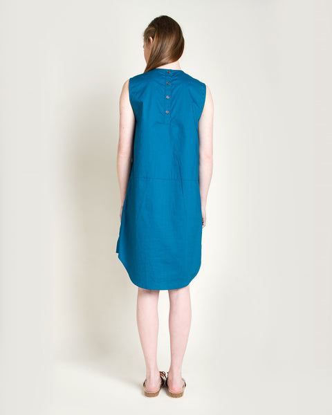Kava Poplin Dress - Founders & Followers - Rachel Comey - 3