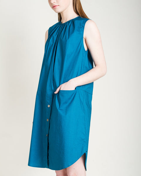 Kava Poplin Dress - Founders & Followers - Rachel Comey - 5
