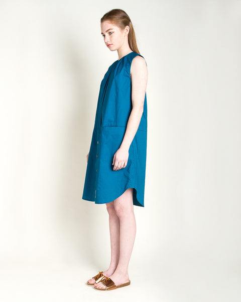 Kava Poplin Dress - Founders & Followers - Rachel Comey - 2