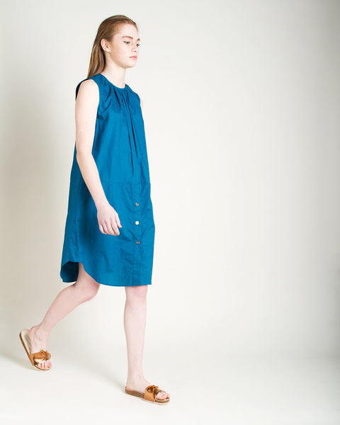 Kava Poplin Dress - Founders & Followers - Rachel Comey - 4