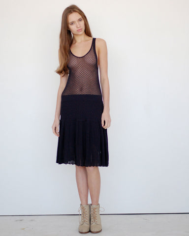 Pointelle Dress - Founders & Followers - Girl by Band of Outsiders - 1