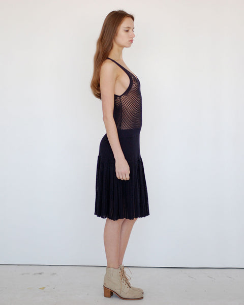 Pointelle Dress - Founders & Followers - Girl by Band of Outsiders - 2