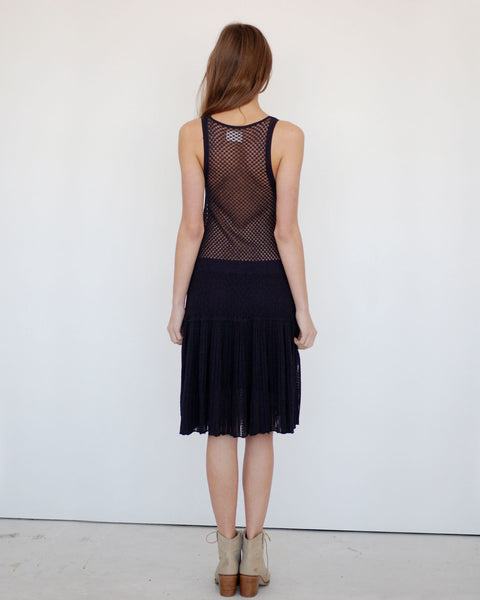 Pointelle Dress - Founders & Followers - Girl by Band of Outsiders - 3