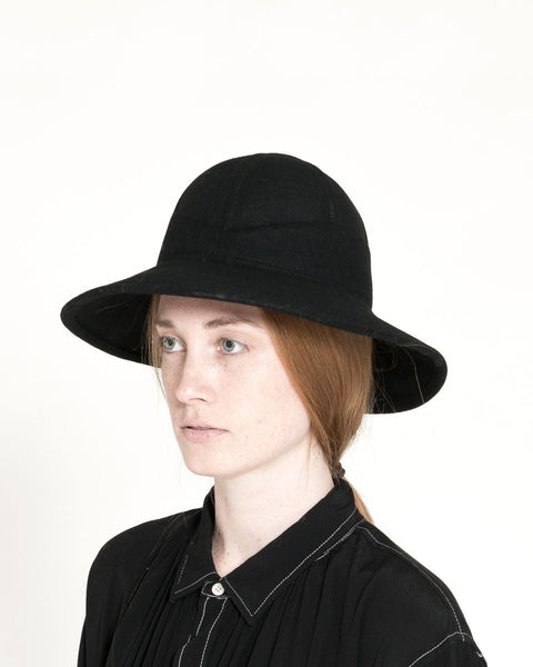 Safari Hat in Black - Founders & Followers - Clyde - 1