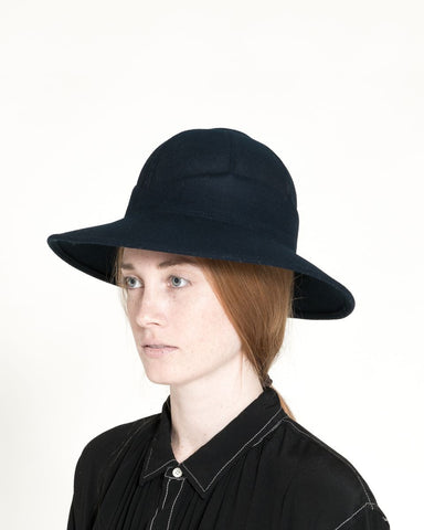 Safari Hat in Navy - Founders & Followers - Clyde - 1