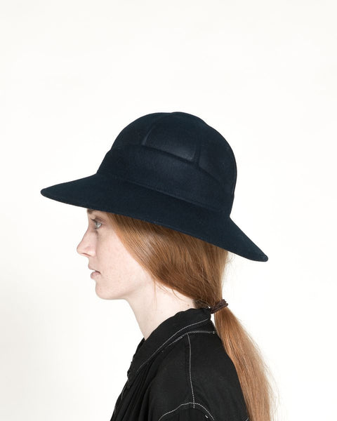 Safari Hat in Navy - Founders & Followers - Clyde - 2