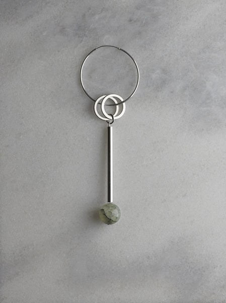 Elensio earring in sage - Founders & Followers - Rue - 3