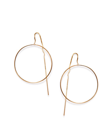 Pinned Circle earrings - Founders & Followers - By Boe