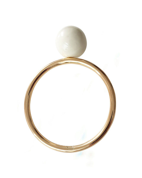 Lollipop bangle in ivory