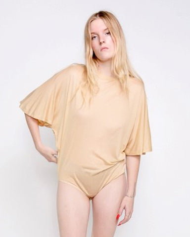 Black bird bamboo Tee body in tea