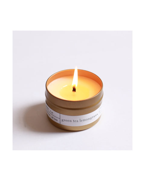 Calm gold travel candle set - Founders & Followers - Brooklyn Candle Studio - 4