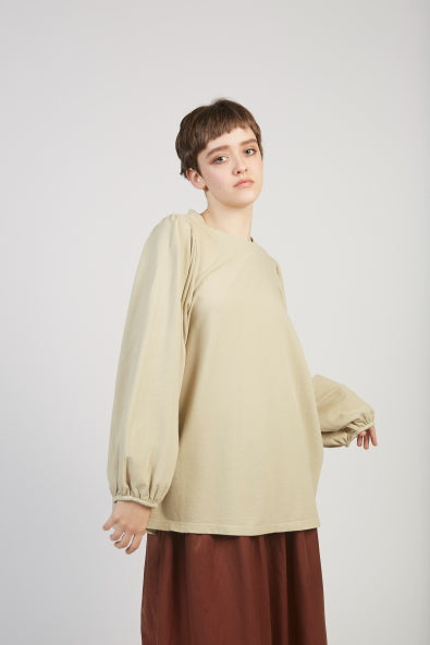 Victoria sweatshirt in pale green