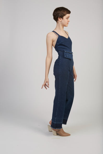 Bahia denim jumpsuit