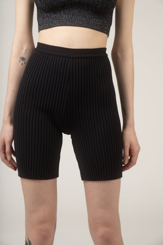 Nonna sport biker short in black
